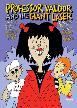 Professor Valdor and the Giant Laser