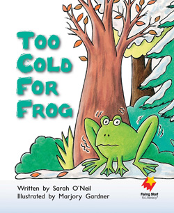 Too Cold For Frog!